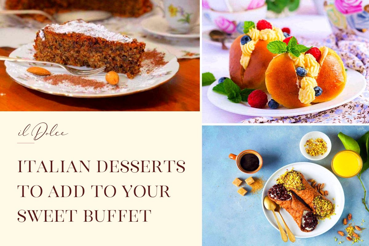 Italian Desserts to Add to Your Sweet Buffet