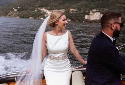 Laura and Jacob's Fairy Tale on Lake Como