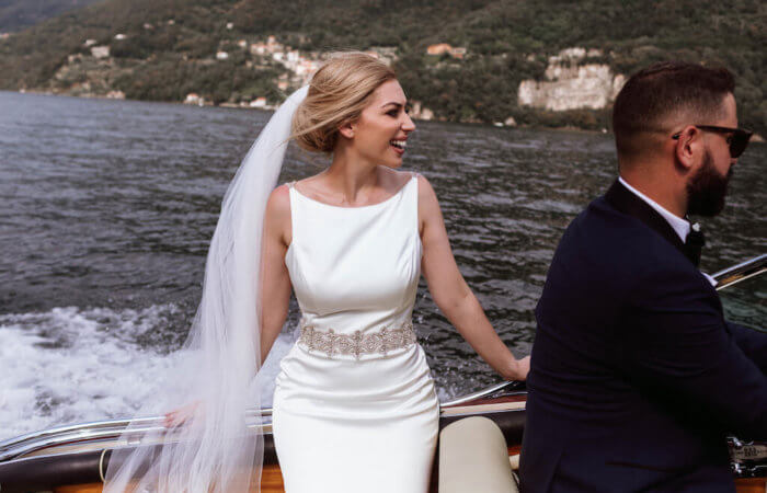Laura and Jacob's Fairy Tale on Lake Como