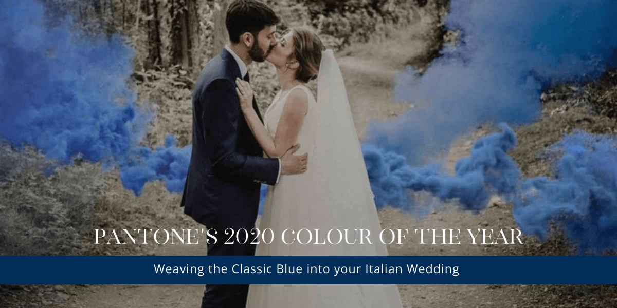 Weaving Pantone's Colour of The Year into Your Italian Wedding