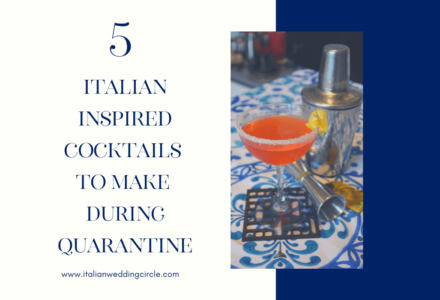 5 Italian-Inspired Cocktails to make During Quarantine
