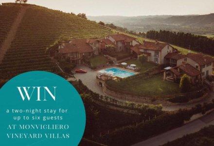 {CLOSED} Win a two-night stay at one of Italy's stunning villas – MONVIGLIERO VINEYARD VILLAS