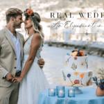 bride and groom in ischia