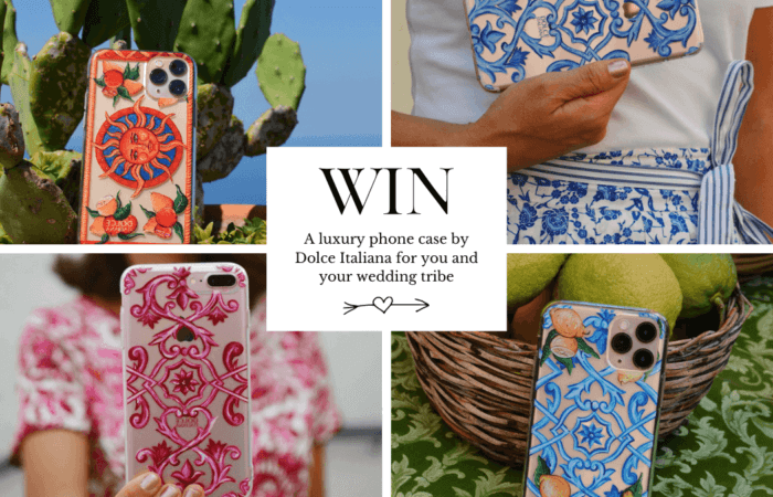 {Closed} Win a luxury hand-painted artisanal phone case for you and your bridesmaids