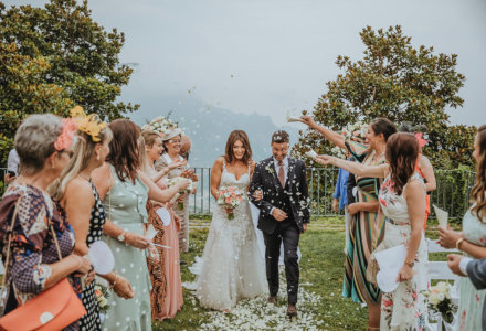 Natalia and Jody's Italian Destination Wedding in Ravello at the beautiful Villa Eva