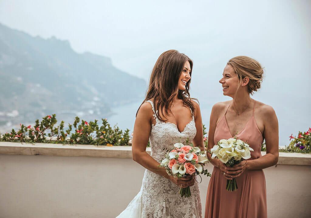 bride in italy