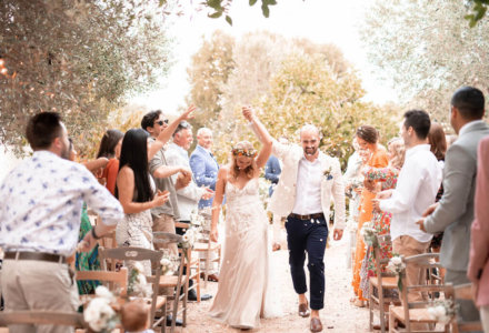 Stephanie and Jonathon's All-White Wedding in Ostuni, Puglia