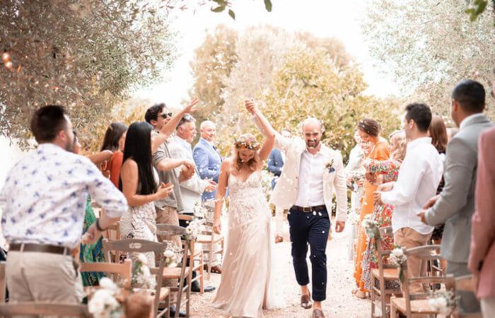 Stephanie and Jonathon's All-White Wedding in Ostuni, Puglia