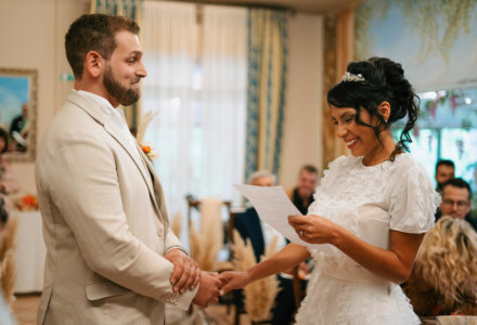 Mario and Jane's intimate autumnal wedding in Umbria