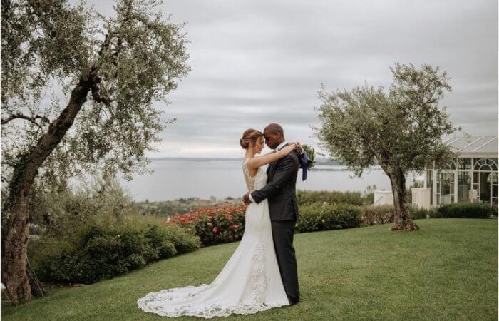 Justin and Kelsey's Romantic and Intimate Lake Garda Wedding