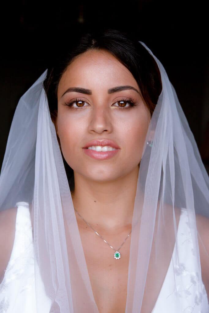 Brazilian bride in Italy