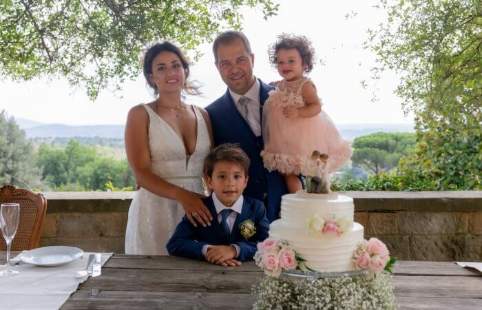 Tailândia and Andrea's Stunning Summer Elopement in Tuscany