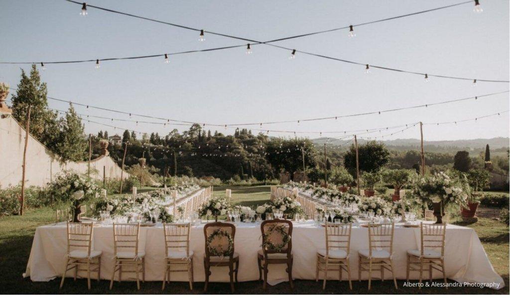 Wedding design in Italy